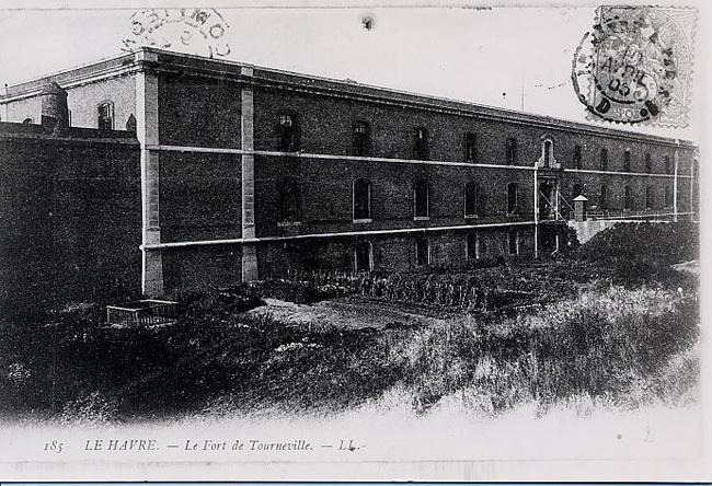 Fort de Tourneville, Carte postale